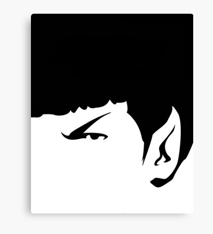It's Spock! Canvas Print