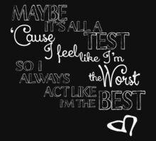 I'm The Best by echosingerxx