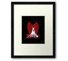 Eren's Ruin Framed Print