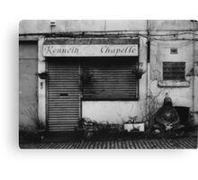 Decrepit Shop Front- Scotland Canvas Print
