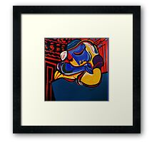 NEW  POWER NAP  PICASSO BY NORA Framed Print