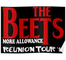 The Beets Reunion Tour Poster