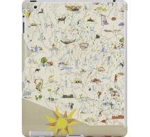 Arizona Vaction State Of The Nation Vintage Travel Poster iPad Case/Skin