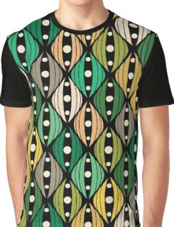 Abstract hand-drawn doodle flowers Graphic T-Shirt