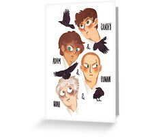 The Raven Boys Greeting Card