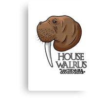 House Walrus Canvas Print