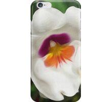White, Purple, & Yellow Flowers iPhone Case/Skin