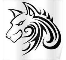 Forme de loup Poster