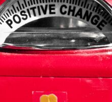 Positive Change Sticker