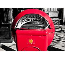 Positive Change Photographic Print