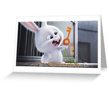 The secret life of pets Greeting Card