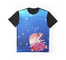 Mermaid Maki Graphic T-Shirt