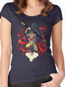Monkey King Women's Fitted Scoop T-Shirt