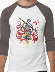 Monkey King Men's Baseball ¾ T-Shirt