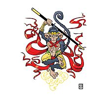 Monkey King Photographic Print