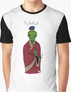 Alien Says Word Graphic T-Shirt