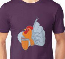 Gold Lavender Partridge Unisex T-Shirt