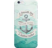 Smooth Sea Anchor iPhone Case/Skin