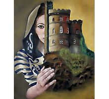 Lady of the Castle Photographic Print