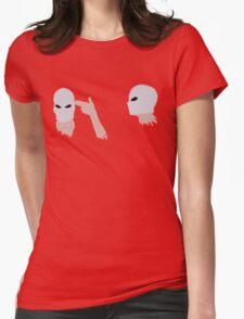 hand guns Womens Fitted T-Shirt