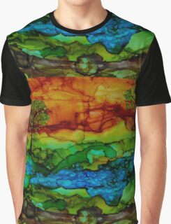 Hill Country Sunset Graphic T-Shirt