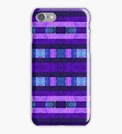 Quilt Top - Deep Purple iPhone Case/Skin