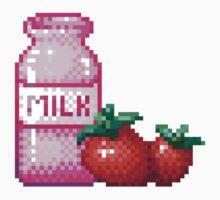 Strawberry Milk by thesharkbite