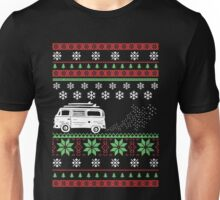 Bus Driver - Vintage Bus Ugly Christmas Unisex T-Shirt