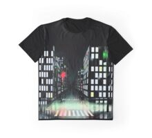 City in the Rain Graphic T-Shirt
