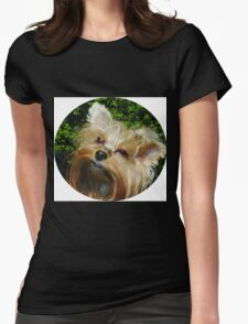 Yorkie's Rule Womens Fitted T-Shirt