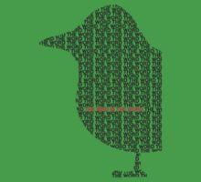 Bird is the Word One Piece - Short Sleeve