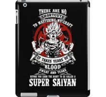 Super Saiyan Goku Shirt - RB00045 iPad Case/Skin