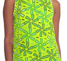 Aestival floral greenery Contrast Tank