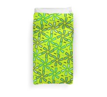 Aestival floral greenery Duvet Cover