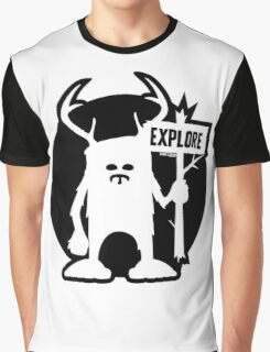 Explore Emblem Logo Graphic T-Shirt