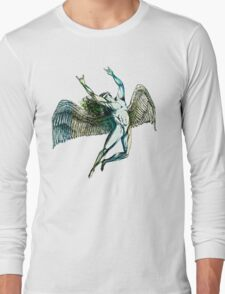 ICARUS THROWS THE HORNS - summer beach Long Sleeve T-Shirt