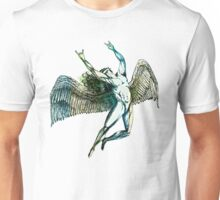 ICARUS THROWS THE HORNS - summer beach Unisex T-Shirt
