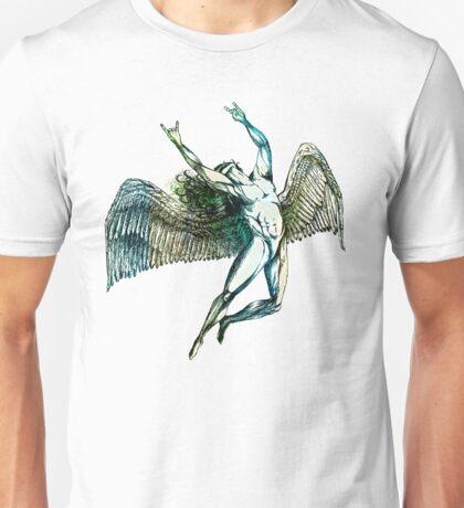 ICARUS THROWS THE HORNS - summer beach Unisex T-Shirt