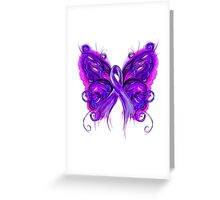 Purplfly Greeting Card