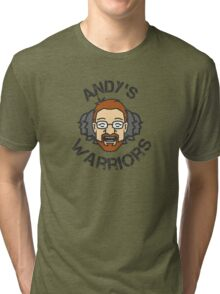 Andy's Warriors Tri-blend T-Shirt