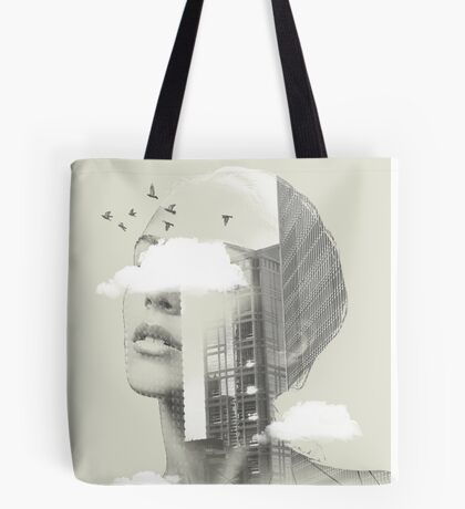 UP TOWN FACET II Tote Bag
