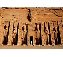Abu Simbel, Egypt Photographic Print