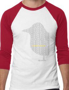 Bird is the Word Men's Baseball ¾ T-Shirt