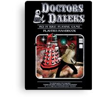 Doctors Daleks Canvas Print