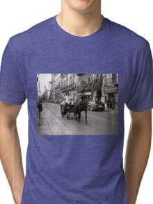 Pointing Out the Sights Tri-blend T-Shirt