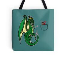 Dragons and Knights Tote Bag