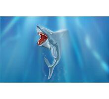 Wild Shark Teeth!  Photographic Print