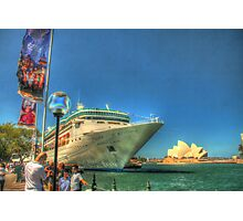 Rhapsody & the Opera House in HDR Photographic Print