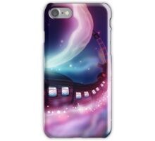 Train Voyage to the Moon iPhone Case/Skin