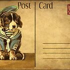 Vintage Post-Card Calendar by © Kira Bodensted